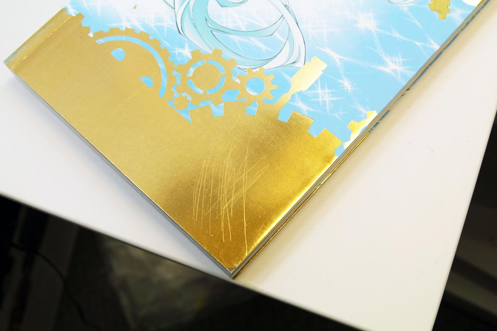 Foil Stamping On Lamination Book Cover