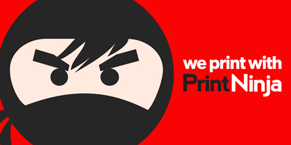 PrintNinja Kickstarter Block Badge